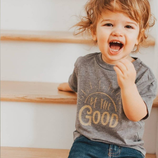 'Be the Good' Toddler Graphic Tee