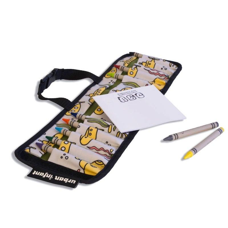 Urban Infant Travel Crayon Wallet
