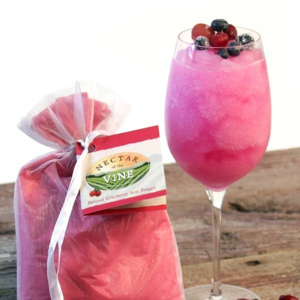 Nectar of the Vine - Cranberry Acai Wine Slushy Mix