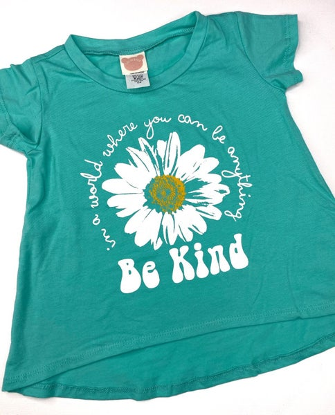 'Be Kind' kids graphic tee