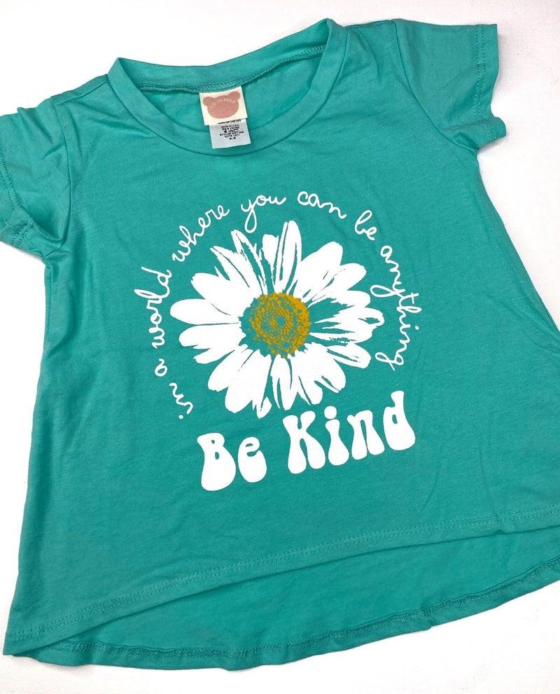 'Be Kind' kids graphic tee