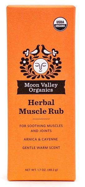 Moon Valley Organics Herbal Muscle Rub
