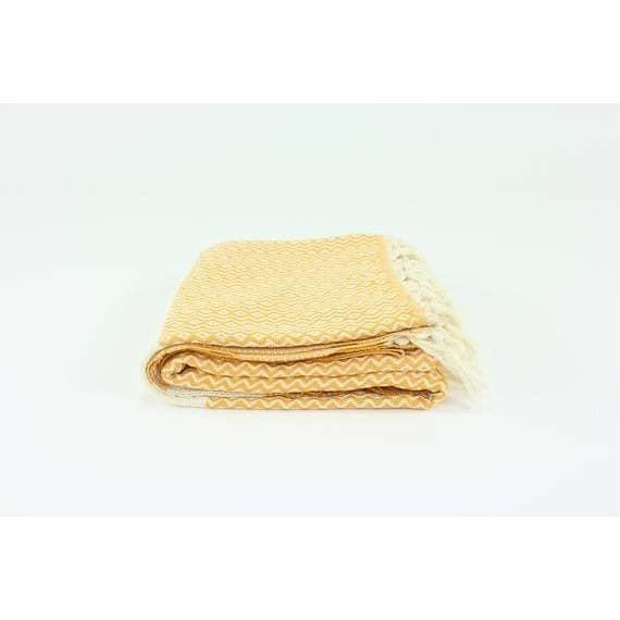 """Premium Turkish Diamond (small pattern) Towel (39"""" x 74"""")"""