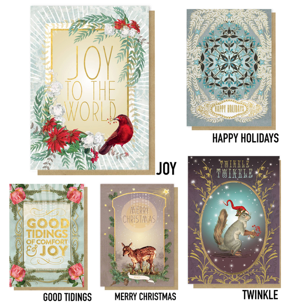 Holiday Greeting Cards : Papaya