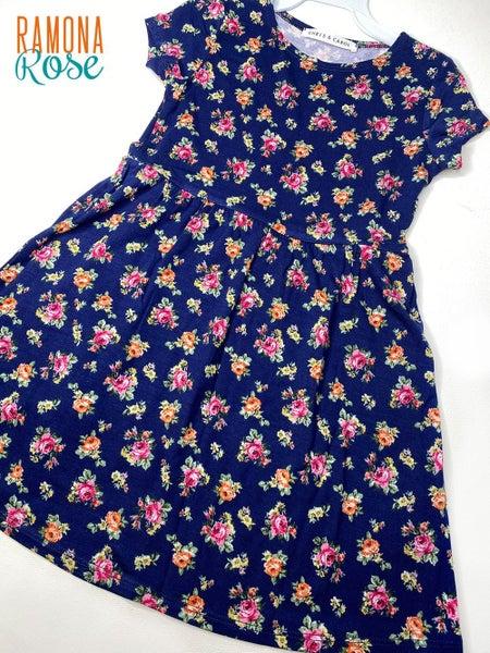 Spring Floral kids dress
