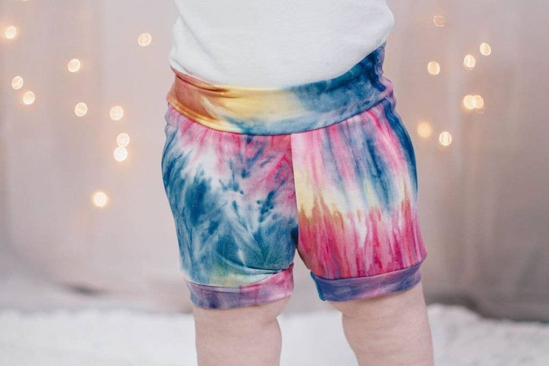 Tye-Dye Shorties : Jena Bug Baby Boutique