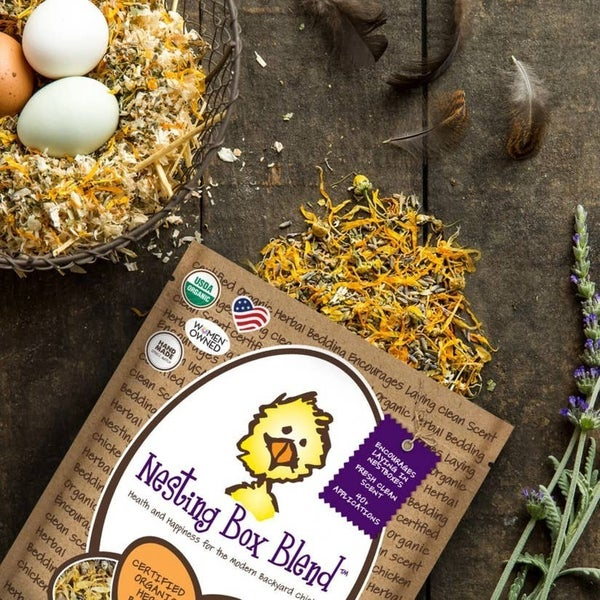 Nesting Box Blend for chickens