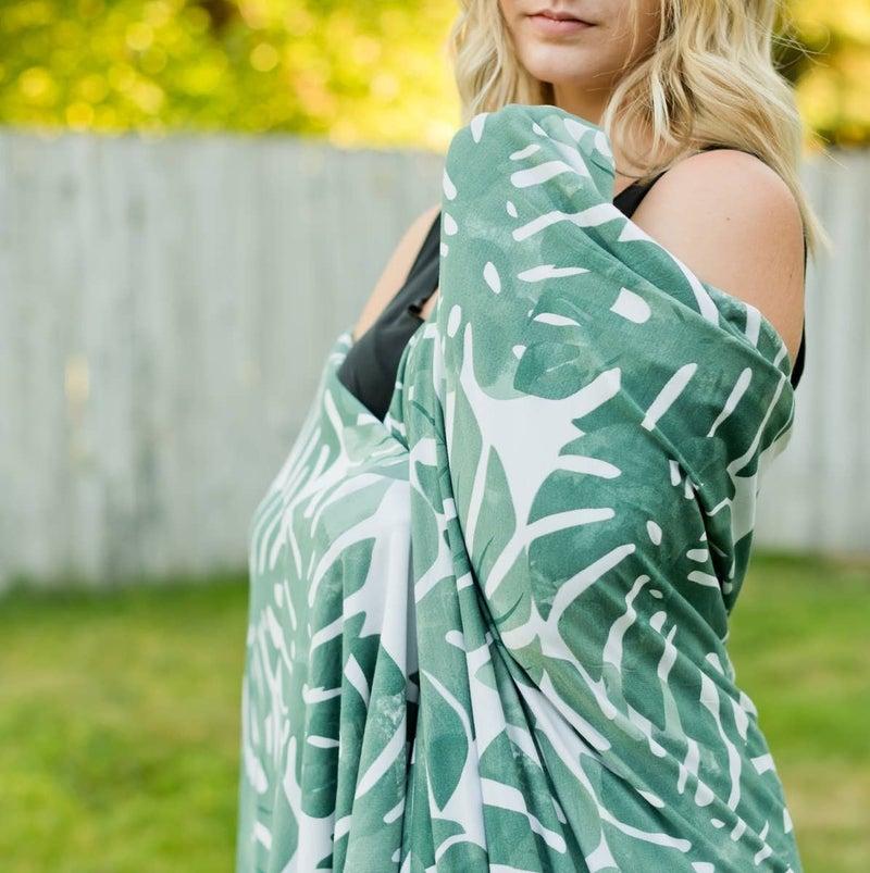 Monstera Blanket : Pipermoon