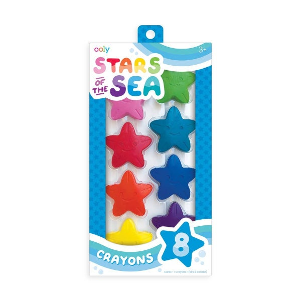 'Stars of the Sea' starfish crayons