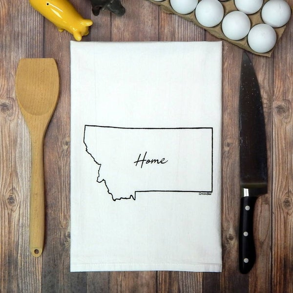 Home State Flour Sack Tea Towels