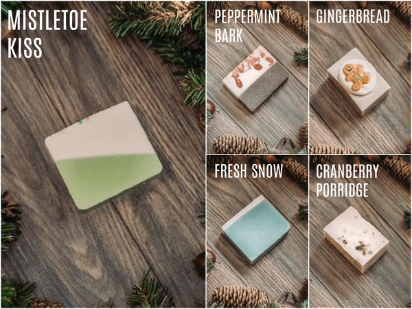 Mountain Madness Soap Co - Holiday Seasonal Soaps