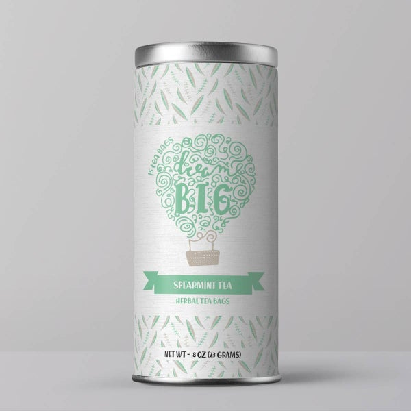 Dream BIG Kids Tea ( Spearmint Tea Bags) : Little Prayer Tea Co