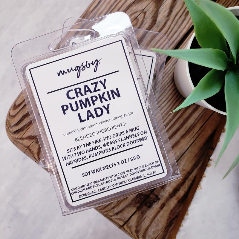 'Crazy Pumpkin Lady' soy wax melts