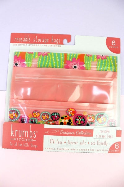 Reusable Storage Bags (6 count)