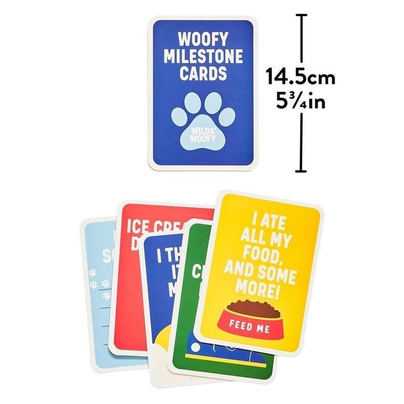 """Dog """"Woofy"""" Milestone Cards"""
