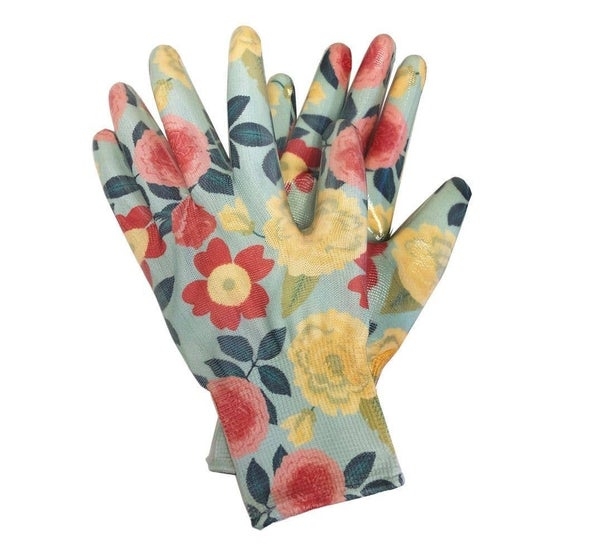 Womanswork Heirloom Garden Nitrile Weeder Gloves