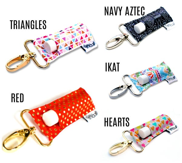 Lippy Clips - Stripes, Plaids and Geometrics *Final Sale*