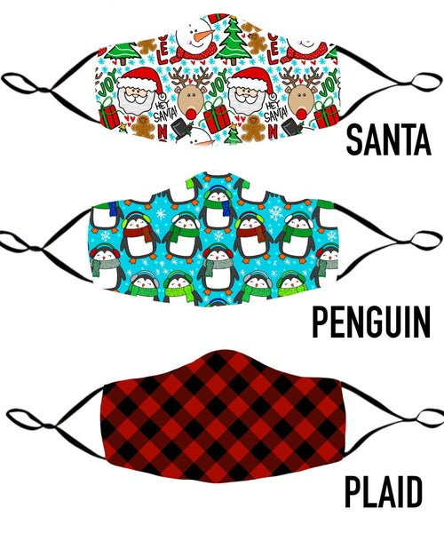 Holiday Face Coverings - Adult size