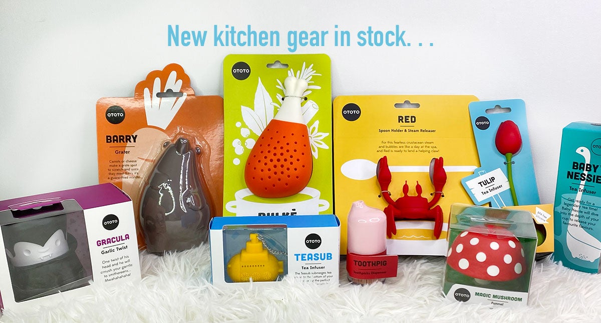 New kitchen gear in stock!