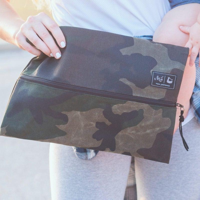 Makeup Junkie Bags : Waxes Canvas Camo Bag