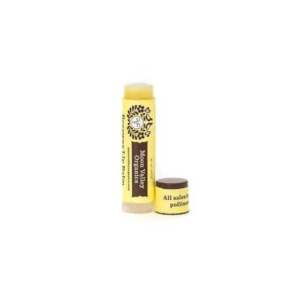 'Velvety Vanilla' beeswax lip balm - Moon Valley Organics
