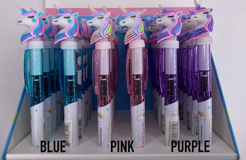 Light-up Unicorn Pen