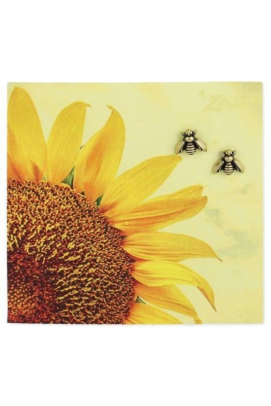 Bumblebee vintage antique gold finish