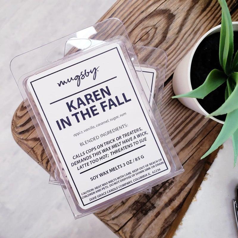 'Karen in the Fall' soy wax melts