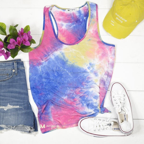 Soft and Dreamy Tie-Dye Tank Top