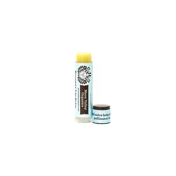 'Cool Mint Vanilla' beeswax lip balm - Moon Valley Organics