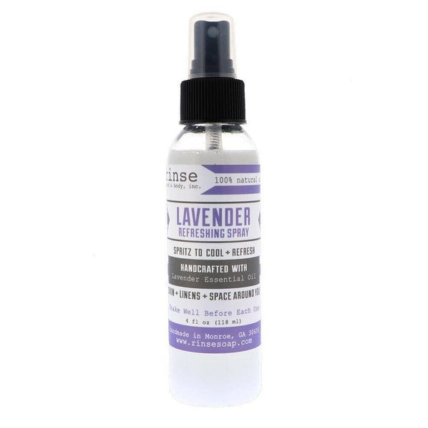 Lavender Refreshing Spray : Rinse Bath Body Inc