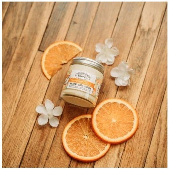Summer Citrus Body Butter : Mountain Madness Soap Co