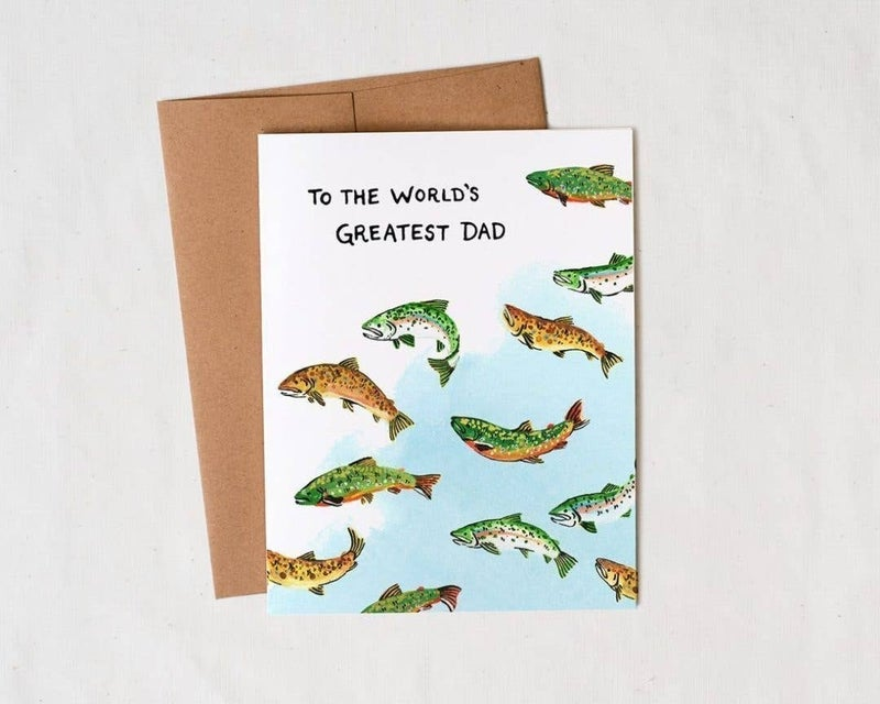 'To the World's Greatest Dad' - Father's Day card