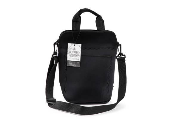 Samba Medium Neoprene Messenger - Black