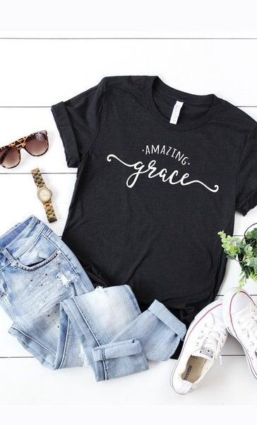 'Amazing Grace' graphic tee