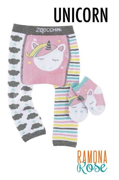 Whimsical Legging and Sock Set : Zoochini