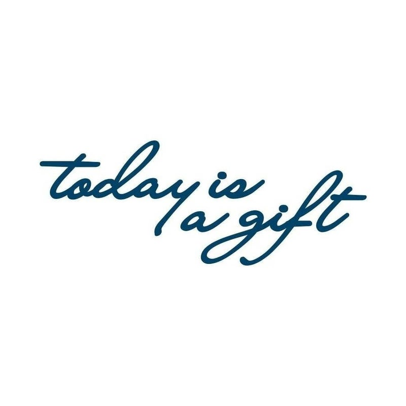 'Today is a Gift' Manifestation Tattoo - 2 Pack