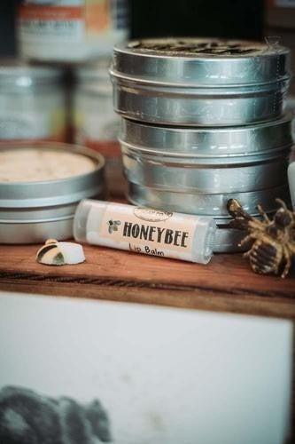 Honeybee Lip Balm : Mountain Madness Soap Co
