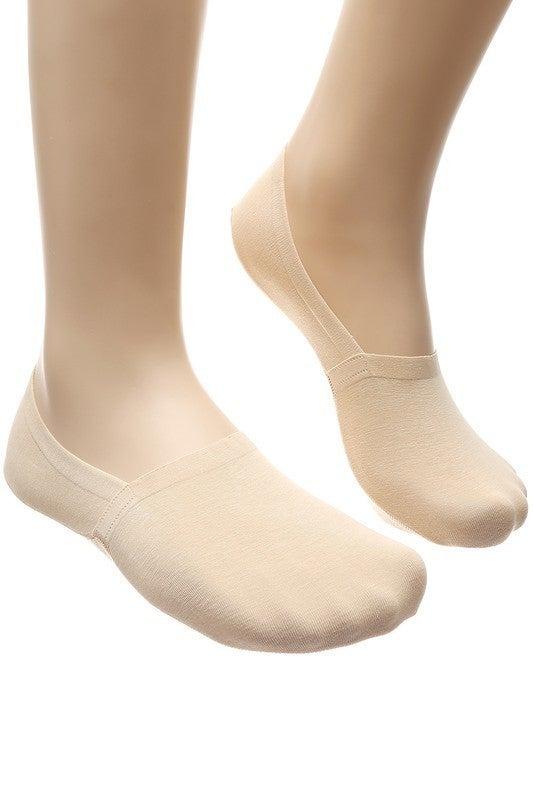 No-Show Socks with Heel Grip