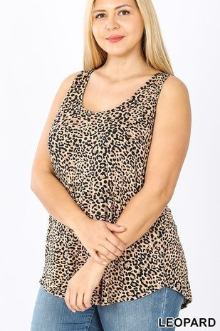 Leopard summer tank top