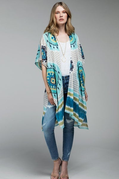 Intricate Mandala Lightweight Kimono