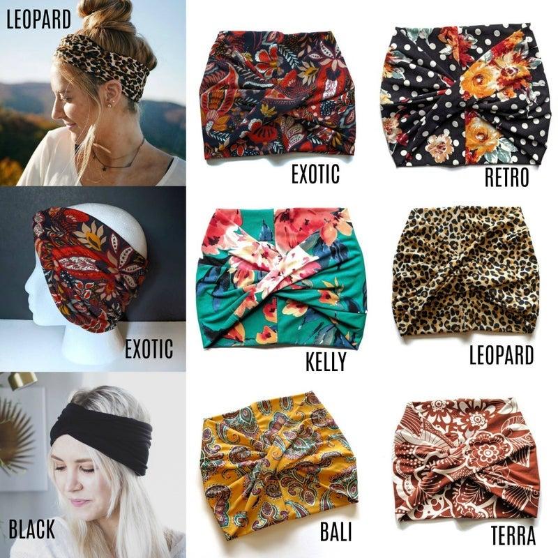 Gorgeous headbands, turbans