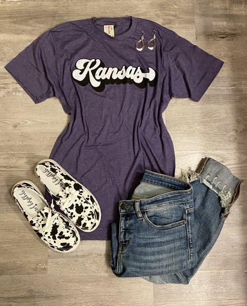 Purple Kansas Tee