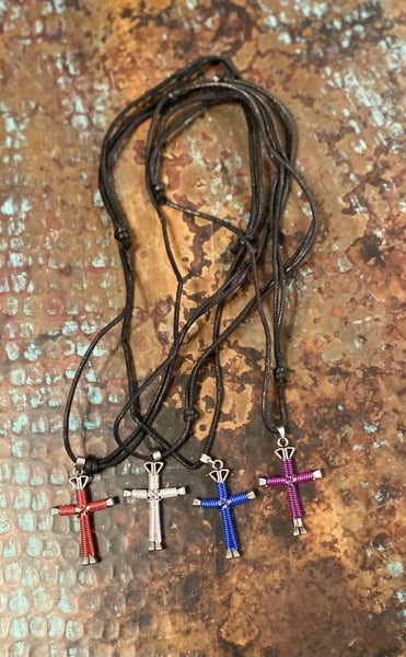 Disciple Cross Necklace *4 Colors*