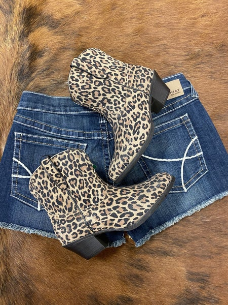Ariat Darlin Leopard Booties