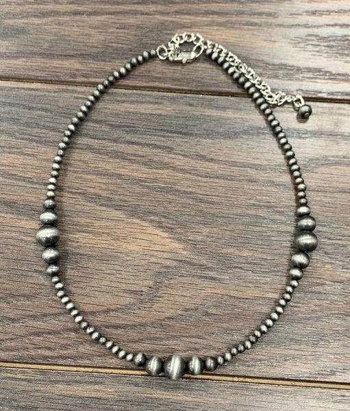 Navajo Cannon Pearl Necklace