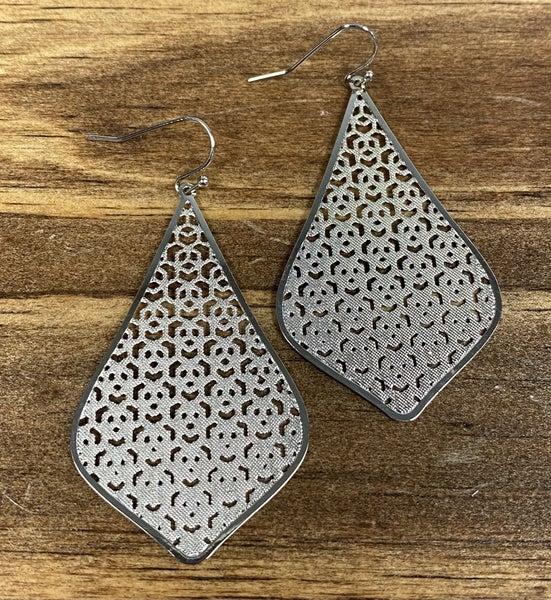 Fancy Lady Silver Earrings