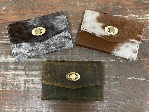 Dawn To Dusk Assorted Leather Wallets