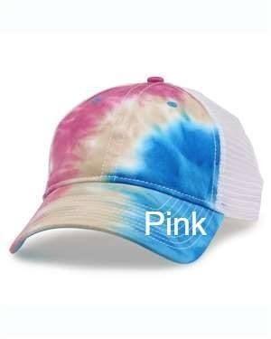Tie Dye Trucker Cap