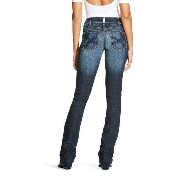 Ariat Womens Real Denim Straight Leg Ella Jean